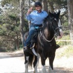 Lady Fiona and Judi, Mounted Patrol Volunteers