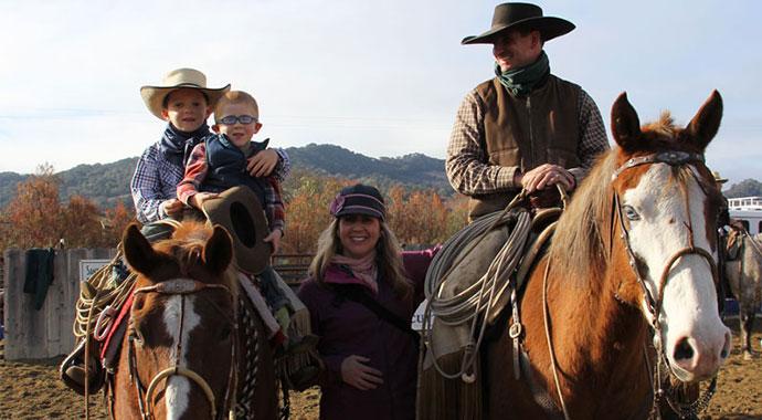 Aaron Lazanoff and Family