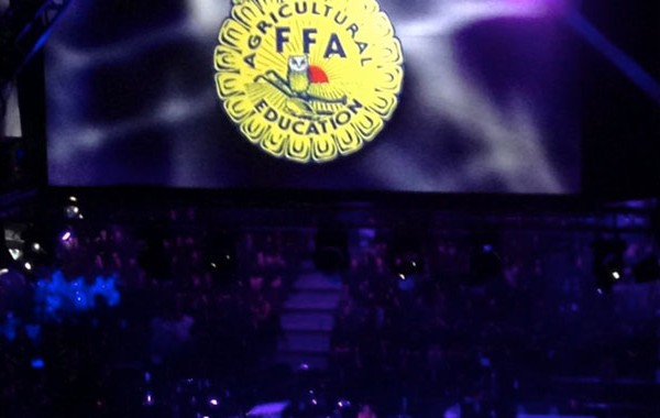 California State FFA Conference 2014 - Stage