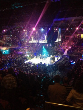 California State FFA Conference 2014 - Arena