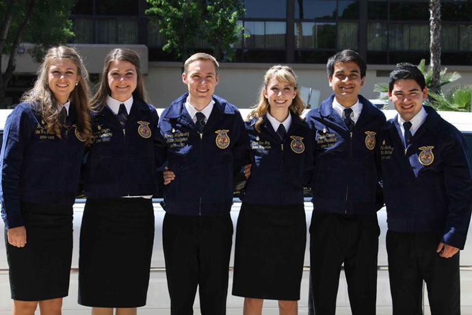 California State FFA Conference 2014 - State Officers