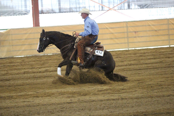SLOCQHA Mothers Day Circuit Show Reining