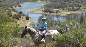 Santa Margarita Lake Horse Trail Ride