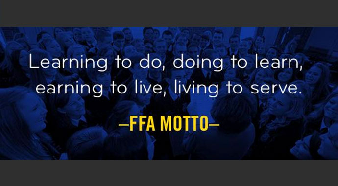 California FFA Motto