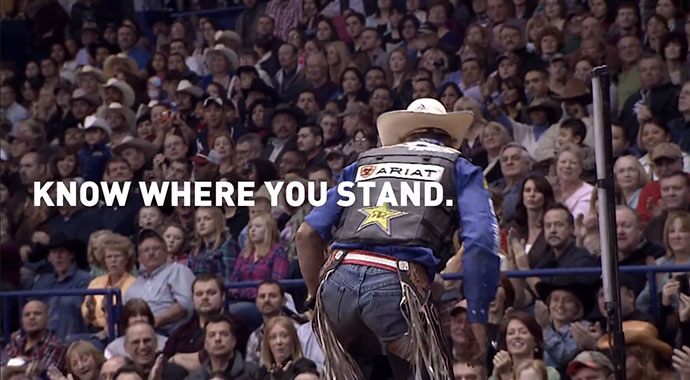 ariat know where you stand