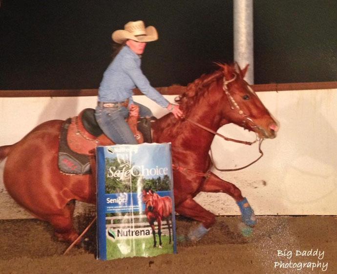 Annie Spurr Barrel Racing