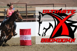 Nikki Egyed and the Ultimate X Showdown OTTB Barrel Race