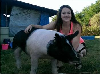Kaylee Ryan with Atascadero FFA