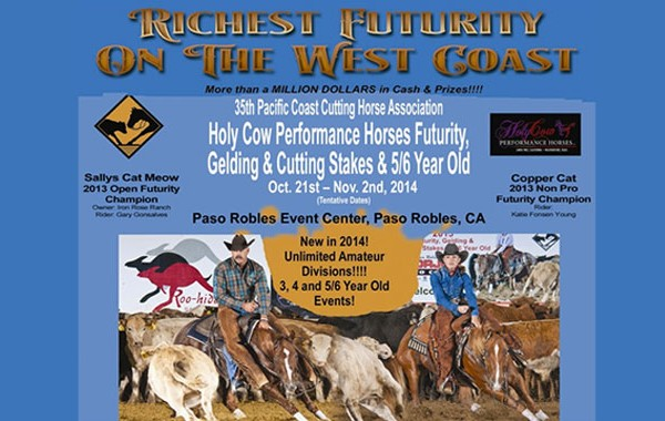 PCCHA Richest Futurity On The West Coast 2014