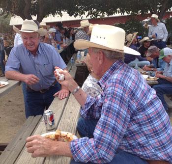 Ranchers-enjoying-lunch