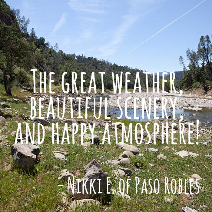 ThanksToSLO Message from Nikki E of Paso Robles
