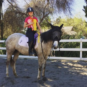 CTR Ryder in the Sky, adopted from CANTER by Brooke. Also trained and boarded at the Equine Center.