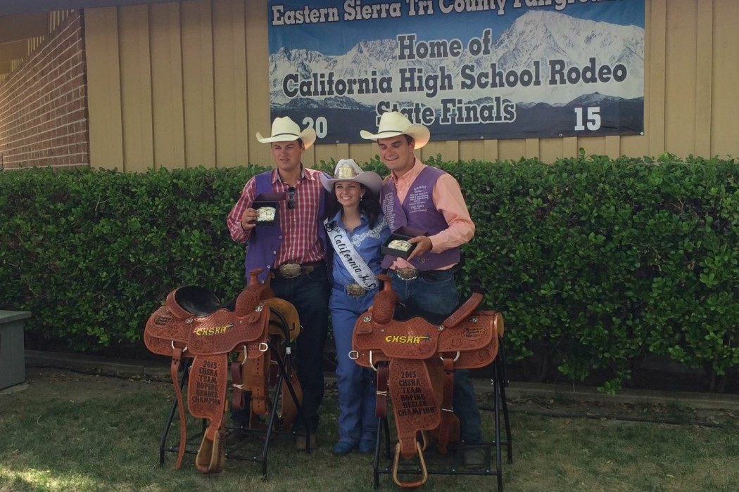 Learning Team Work and Responsibility in High School Rodeo | SLO Horse News