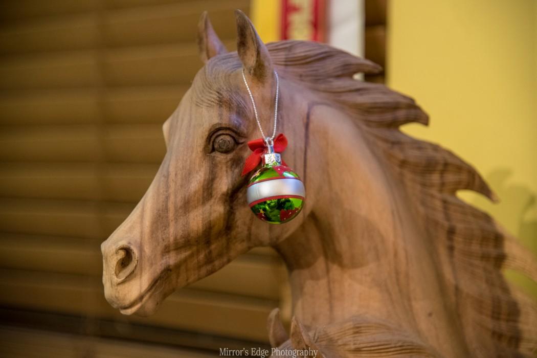 Christmas Horse Small