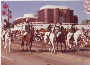 rose parade sharon horse