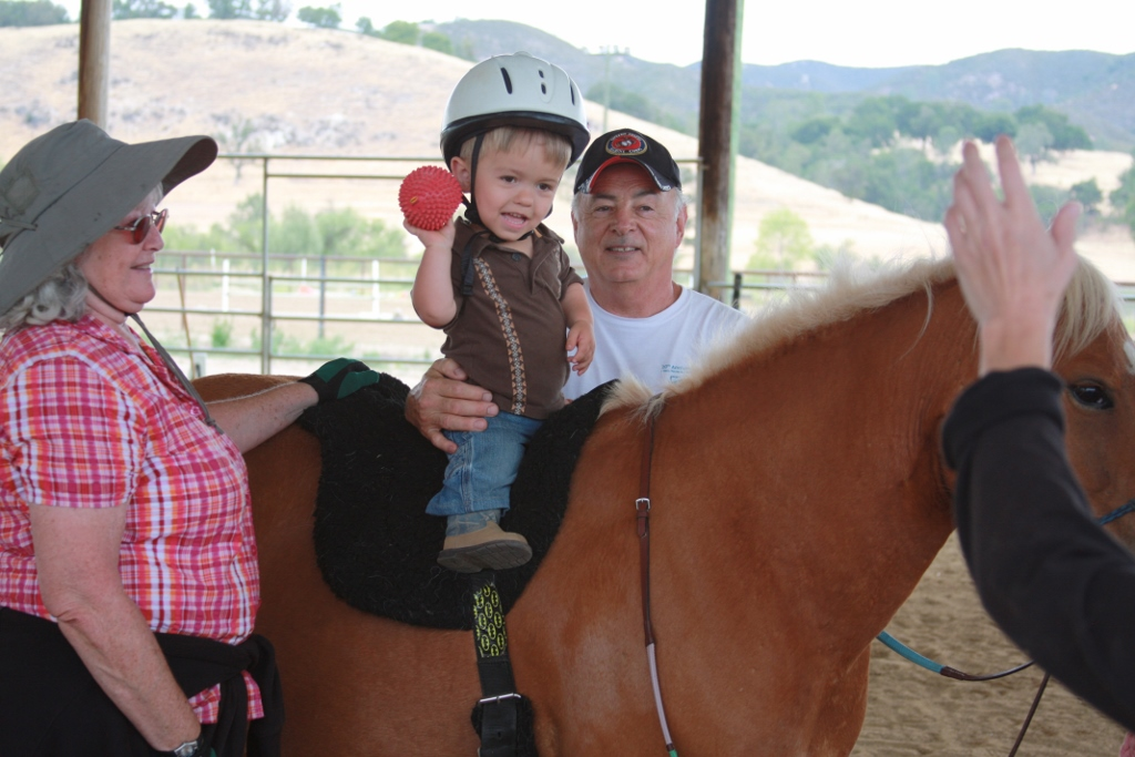 Riding Along With Partners in Equestrian Therapy (P.E.T.) | SLO Horse News