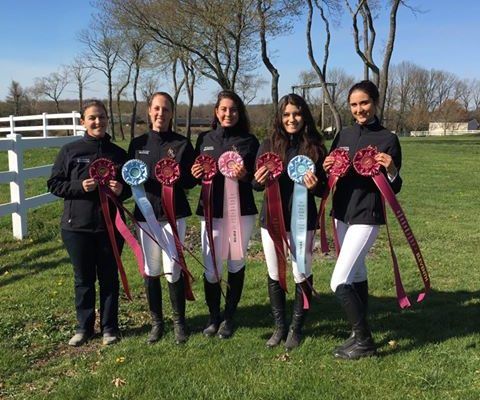 Dressage Team at nationals