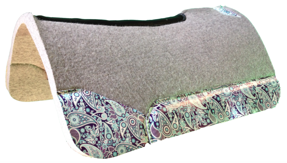 Fit, Function and Fun of the Western Saddle Pad | SLO Horse News