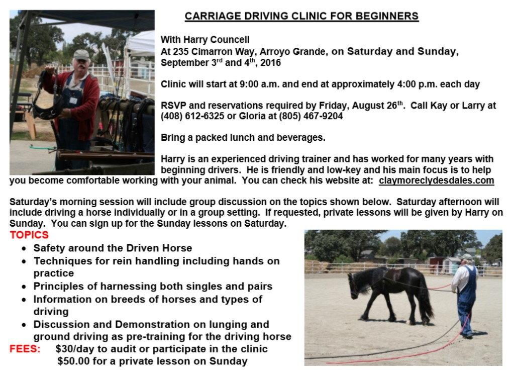Driving clinic Harry
