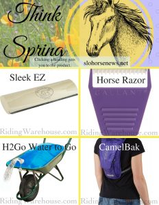 Think Spring: Must Have Horse Items | SLO Horse News