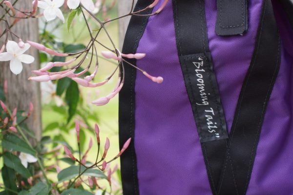 Business is Blooming : Blooming Tails Tail Bags | SLO Horse News