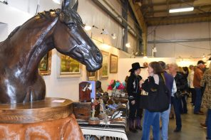 Local Talent and Personalities Gather to Enjoy Cattlemen's Western Art