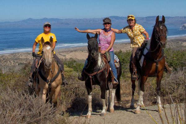 Horse Camping for a Cause at Montaña de Oro | SLO Horse News