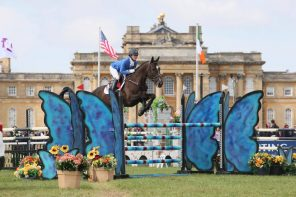 Andrea Baxter and Indy 500 : Eventing in England