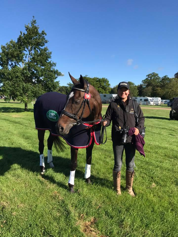 Andrea Baxter and Indy 500 : Eventing in England   SLO Horse News