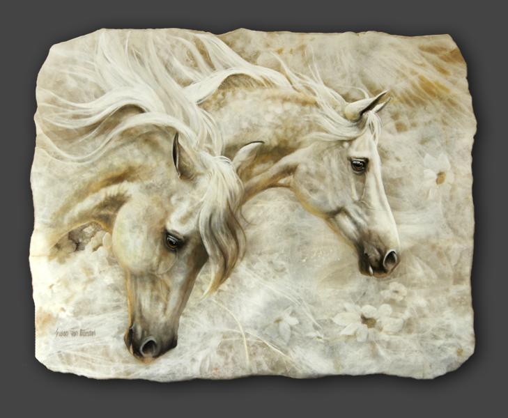 "Susan von Borstel and ""Horseness"" : 2018 Cattlemen's Western Art Show and Sale | SLO Horse News"