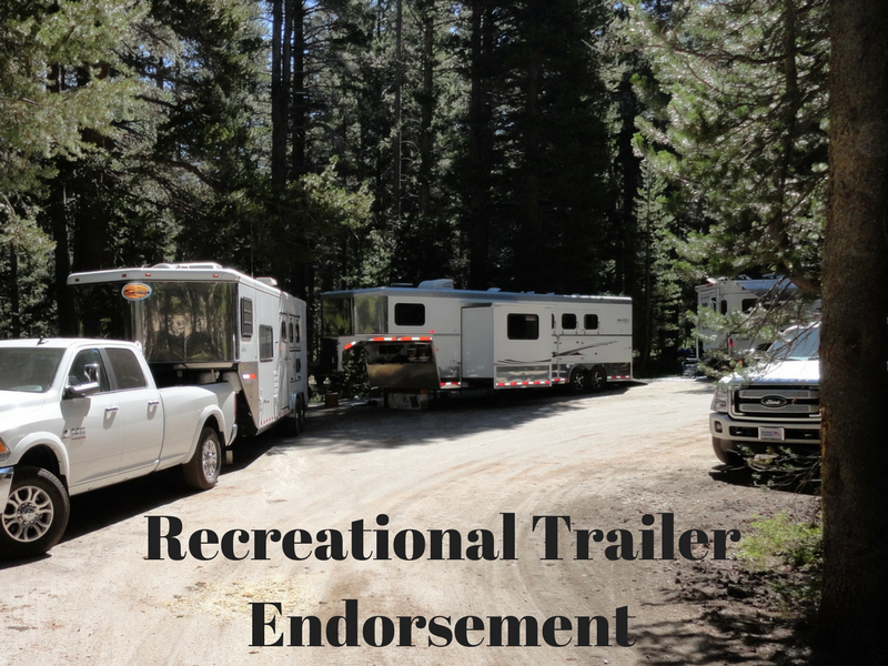Are You Eligible for the New 5th Wheel Recreational Trailer Endorsement? | SLO Horse News