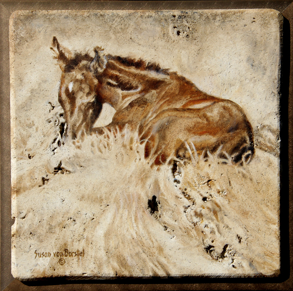 "Susan von Borstel and ""Horseness"" : 2018 Cattlemen's Western Art Show and Sale 