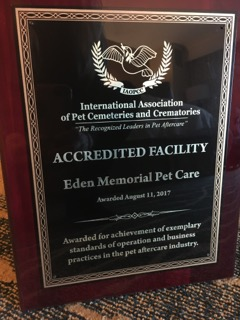 Why a Code of Ethics Matters: Celebrating Eden Memorial Pet Care's Accreditation Award | SLO Horse News