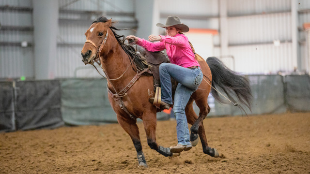 Area High School Rodeo Stars Compete in World's Largest Rodeo