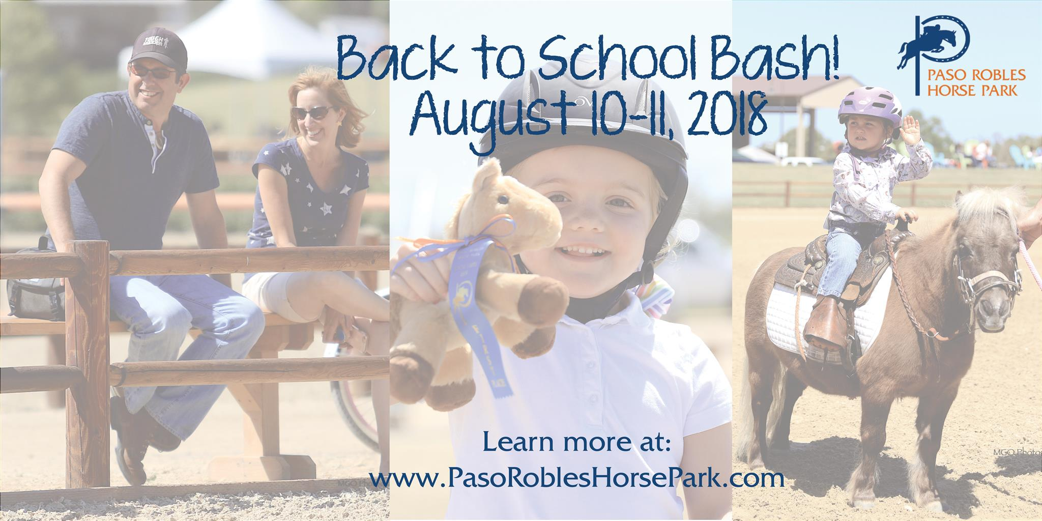 Back to School Bash Horse Camp for Adults and Kids from Newbies to Show Riders | SLO Horse News