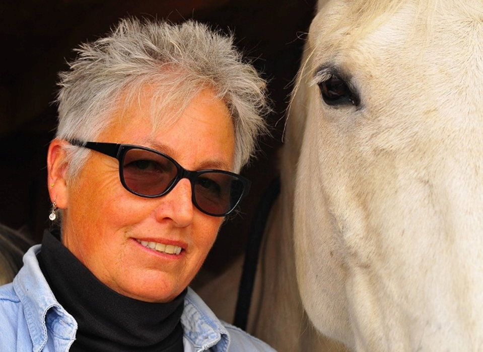 Be Spellbound by Horse Intellect and Humor with Author and Clinician Anna Blake | SLO Horse News