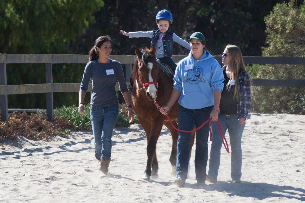 A Day in the Life of a Therapeutic Riding Volunteer | SLO Horse News