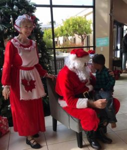 Horses Bring Christmas Cheer to Local Foster Kids | SLO Horse News