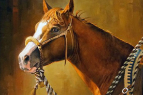 Capturing the Essence of Horse and Human: Western Portrait Artist Vicki Catapano