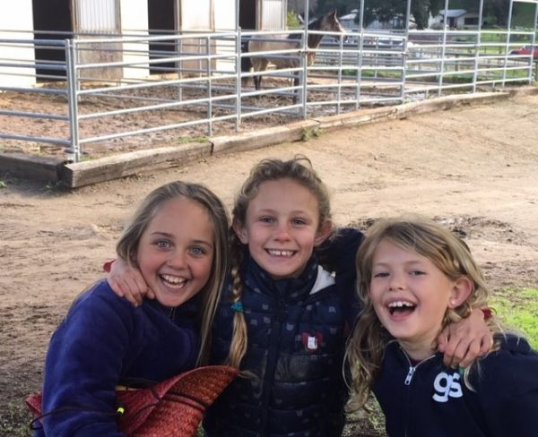 Kid's Day at a Horse Ranch - Not Just a Random Act of Kindness   SLO Horse News