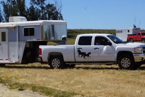 How Comfortable Are You Maneuvering Your Horse Trailer?
