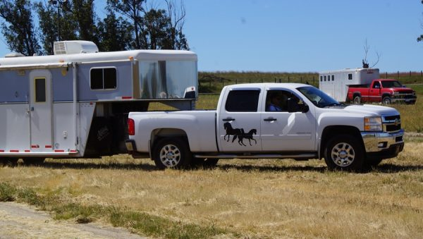How Comfortable Are You Maneuvering Your Horse Trailer?   SLO Horse News