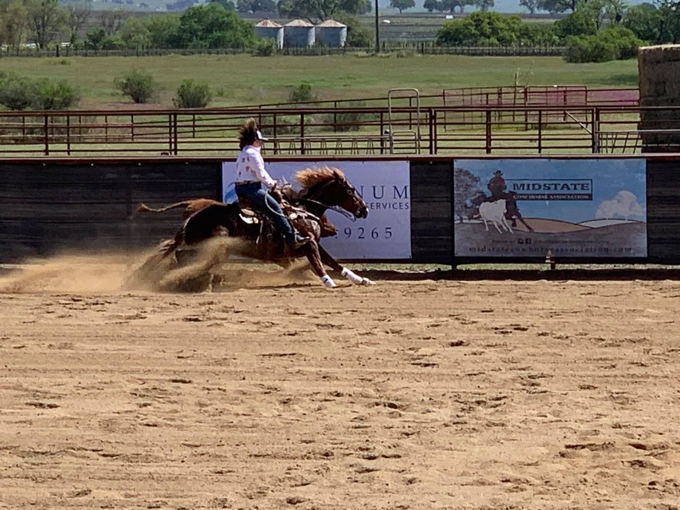 Mid-State Cow Horse Association Brings Reined Cow Horse Competitions Back to Paso Robles | SLO Horse News
