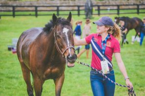 Walking in Her Boots : Top-Level Event Horse Groom, Lexie Thacker