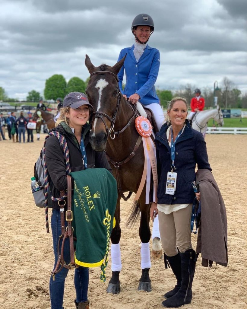 Walking in Her Boots : Top-Level Event Horse Groom, Lexie Thacker | SLO Horse News