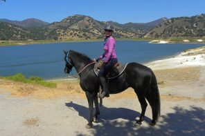 Horse Trail Rides at Lopez Lake : Riding the SLO County Trails