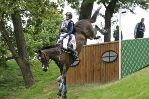 Andrea Baxter and Indy 500 Brave the Biggest, Baddest Burghley Ever