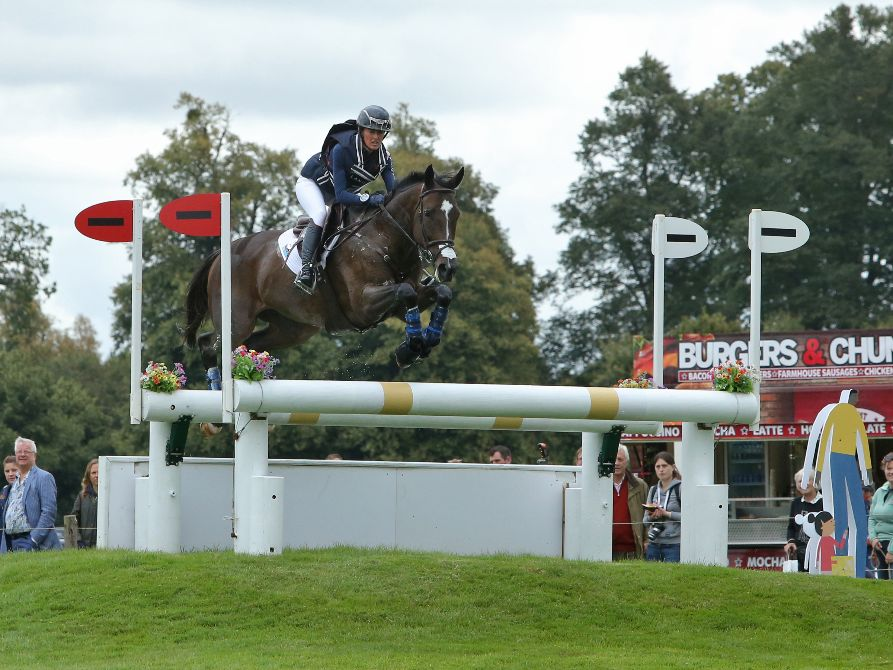 Andrea Baxter and Indy 500 Brave the Biggest, Baddest Burghley Ever | SLO Horse News