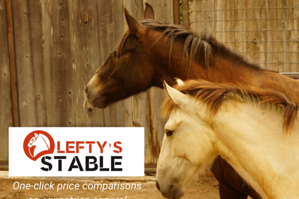 Lefty's Stable: One-Click Price Comparisons on Equestrian Apparel | SLO Horse News