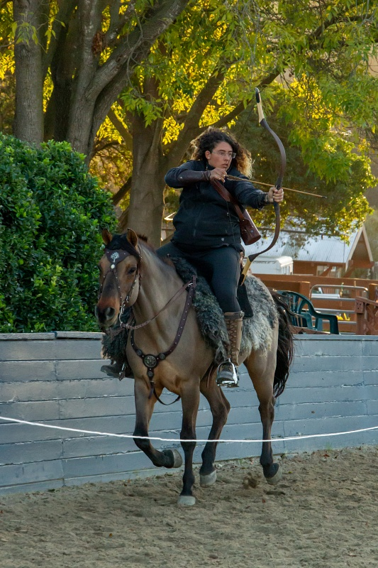Melding Horsemanship and Archery into Mounted Archery | SLO Horse News